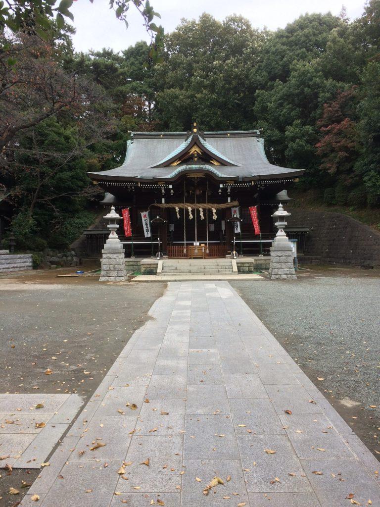 丘の上にお寺がありました丘の上にお寺がありました